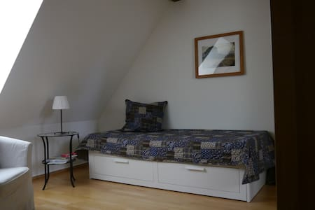 modernes Zimmer im Fachwerkhaus - Münchenstein