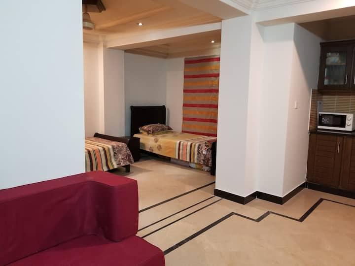 A cozy furnished apartment in affordable price