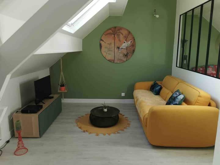 Logement dans propriété proche de Senlis/Chantilly