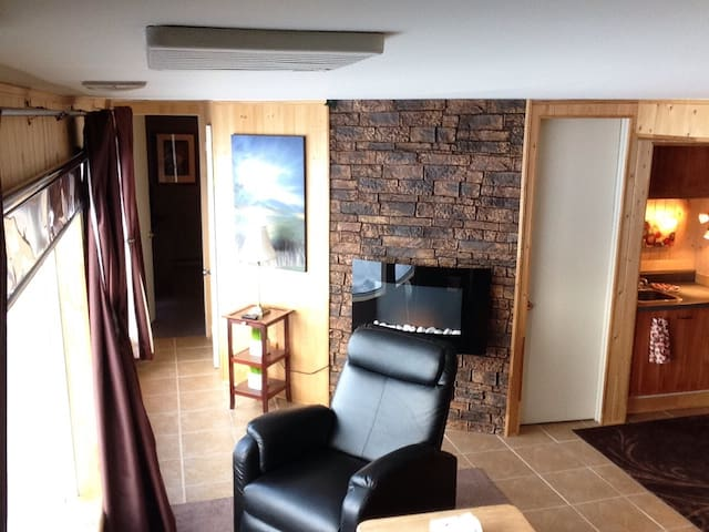 Petit appartement face au lac des sables - Sainte-Agathe-des-Monts - Apartment