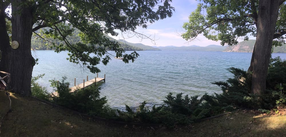 Lake George Waterfront Home with Amazing Sunsets! - Ticonderoga