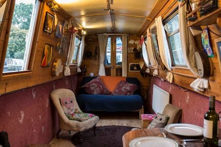 Beautiful sanctuary boat home in heart of london - London