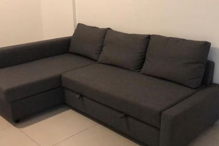 1 bedroom apartment for sharing in Al Ghadeer AD