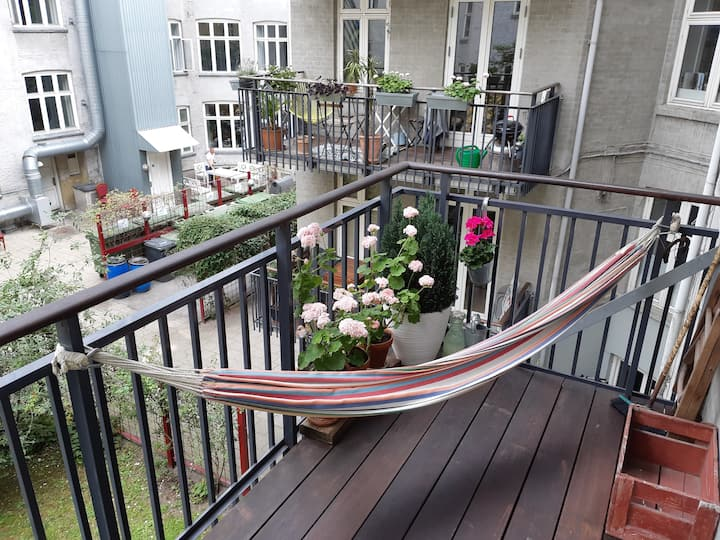 Family friendly apartment in the center of CPH