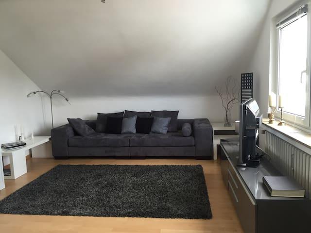 Beautiful spacious and quiet apartment 45 qm - Ratingen - Apartment