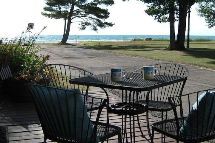 Imagine your coffee in the morning as the sun crests over the horizon - pure Michigan!