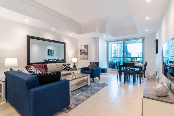 Emmar 6-2BDR with terrace overlooking the Marina