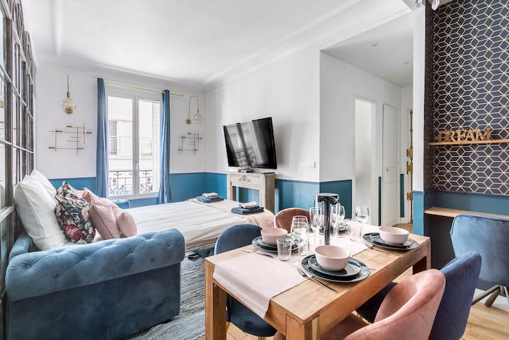 PEACEFUL AND COSY 1BDR NEAR TROCADERO 2/4PERS