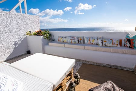 Magical spot in front of the ocean + 300Mb WIFI - Candelaria - Wohnung