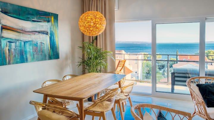 Adriatic Azur Delux Apartment with sea view