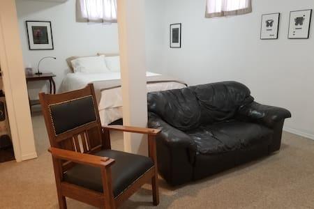 Private, comfortable studio apartment