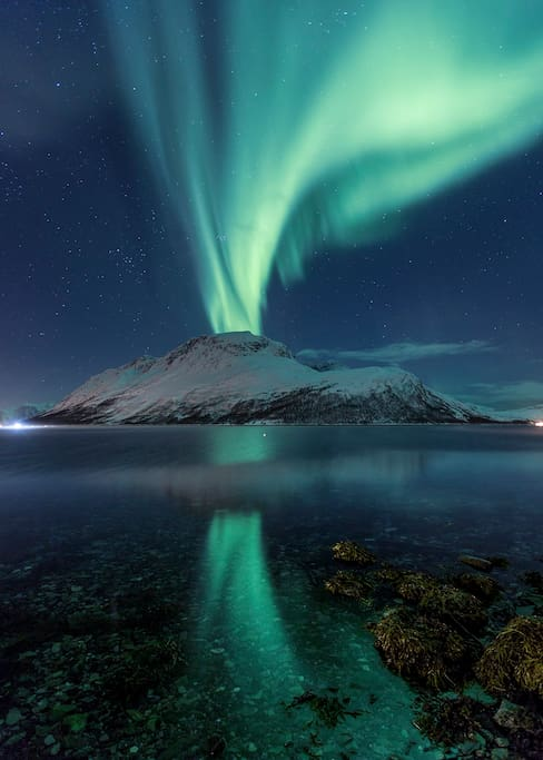 Northern Lights are a common sight!