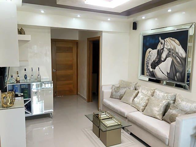 Espectacular apartamento 1BR con terraza y jacuzzi