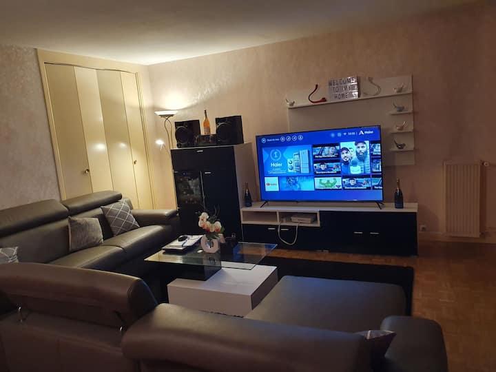 appartement très spacieux proche Paris
