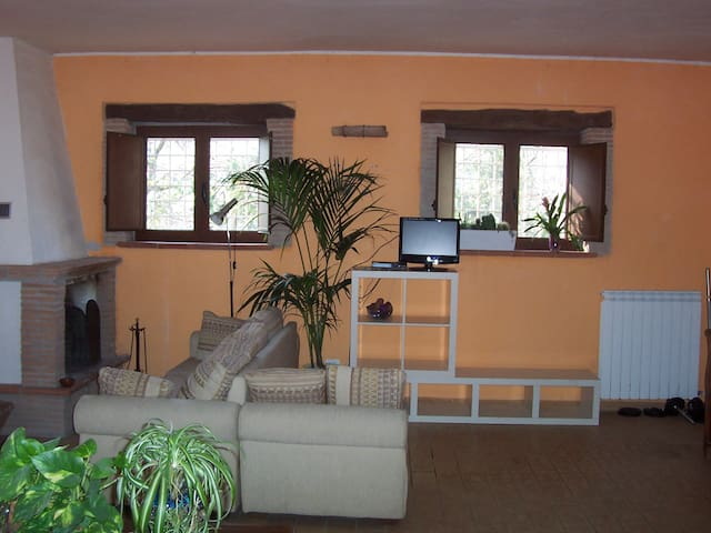 Casale di campagna/casa vacanze - Castelnuovo di Farfa - Natuur/eco-lodge