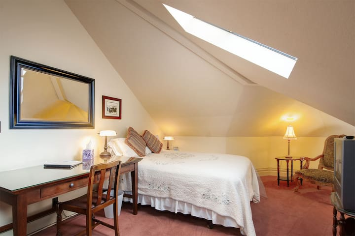 One of our attic rooms.