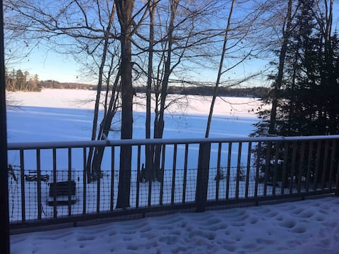 """Golf, lake, trails, """"Stay-cation,"""" Up North!"""