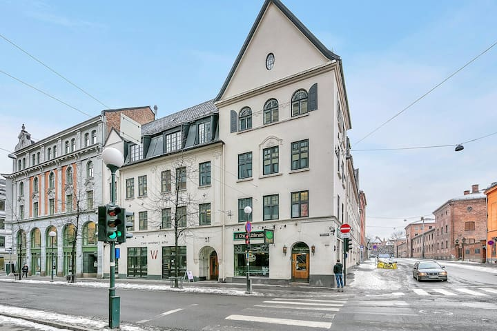 Brand new and super central 3-bedroom apartment, perfect for share. Karl Johan, Royal Palace and Aker Brygge are right around the corner. Quick access to the aiport.