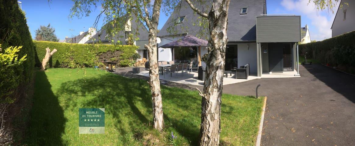 Large modern villa in St Malo with sauna, jacuzzi - Saint-Malo - Villa