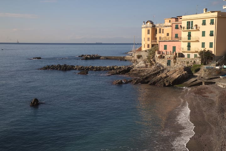 CASA DI CHIARA Lovely flat 150ft to the sea - Genua - Wohnung