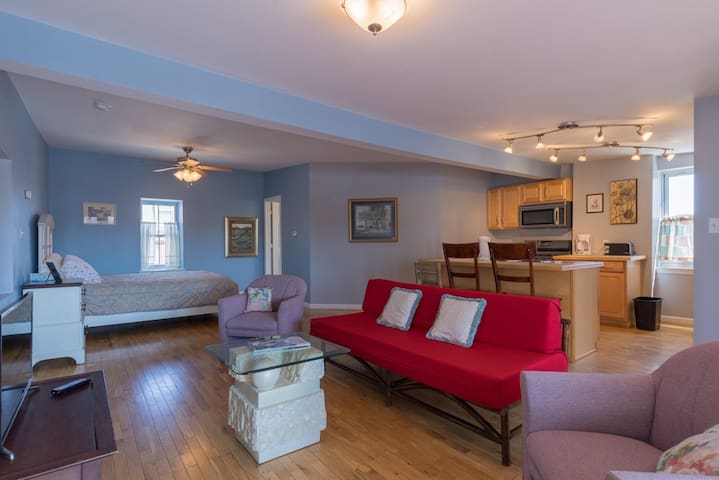 Historic Soulard 3rd floor Apartment on Geyer!