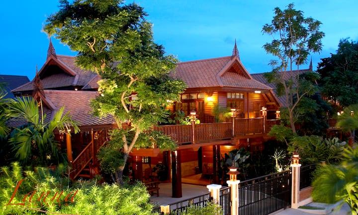 Thai House 3 bedroom Villa Pattaya H.2