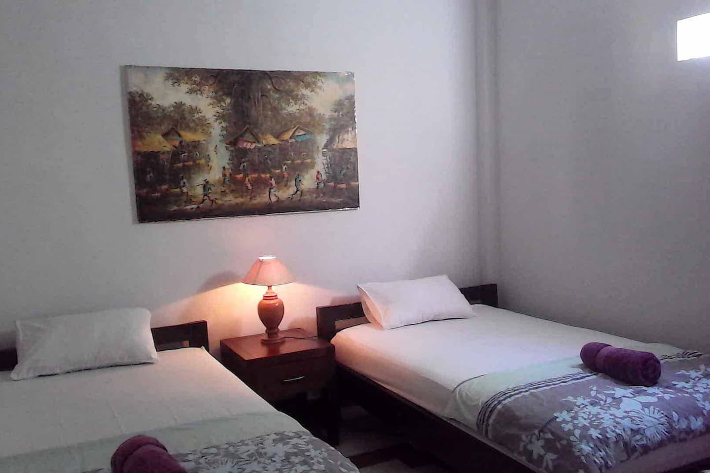Large. clean rooms for 1 or 2 guests