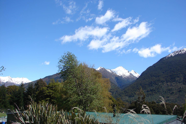 Autumn view from Studio