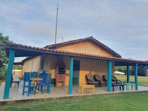 Casa na Fazenda on the banks of the Furnas Dam