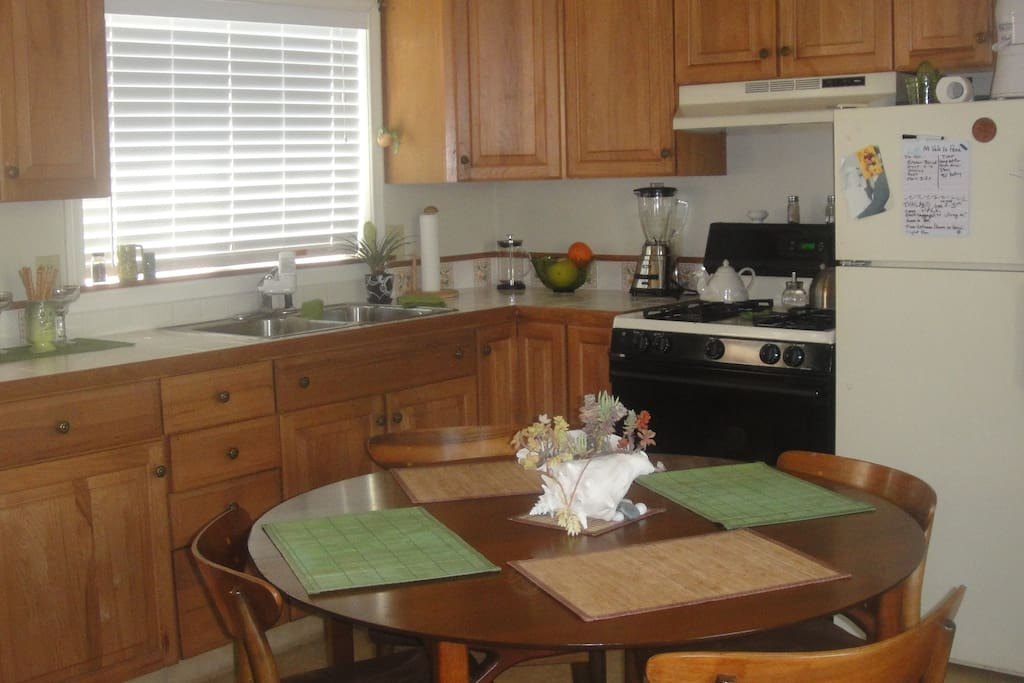 Kitchen living and dinning area