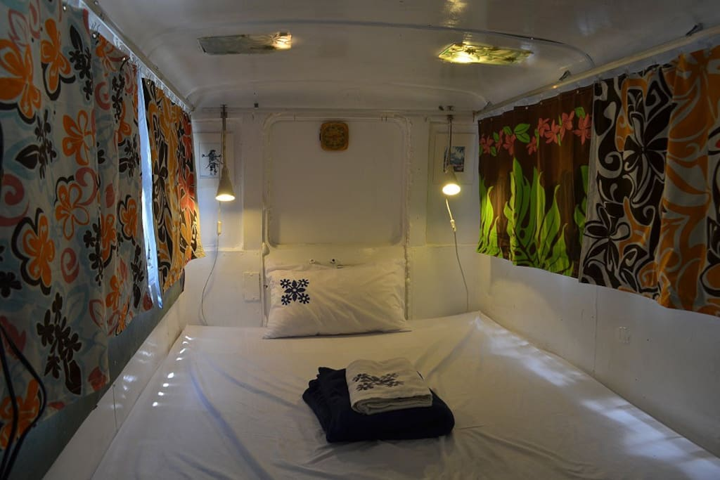 1-person private room ( only allowed 1 person staying )1人露營車床( 限1人入住)
