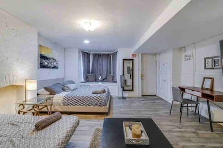 🏙🗽Gorgeous Walk-in 1 bedroom 20-35minute to NYC