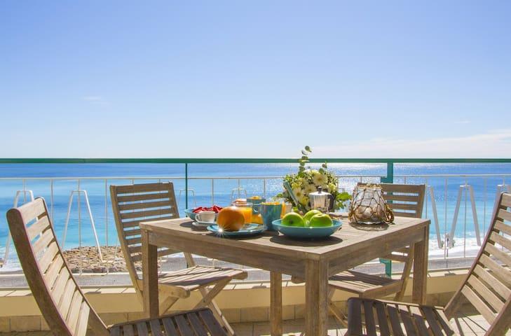 Vue mer inoubliable - Promenade des Anglais - A/C - Nice - Appartement