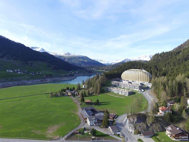 Tolle 2-Zimmer Wohnung Nähe See - Davos