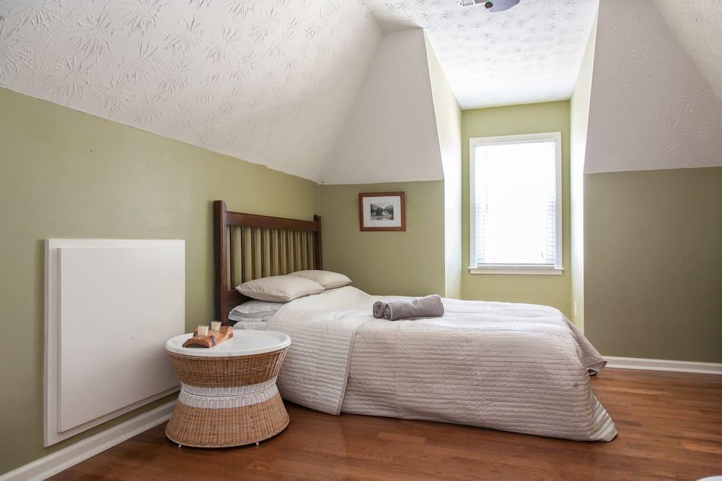 Bonus room with Queen futon bed