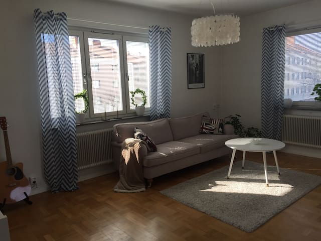 3 room apt in central Eskilstuna - Eskilstuna - Departamento
