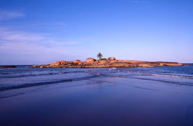 Ilha do coqueiro - vista da praia