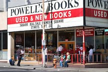 Powell's headquarters, dubbed Powell's City of Books, claims to be the largest independent new and used bookstore in the world. When visiting Portland for the first time, it is a must see!