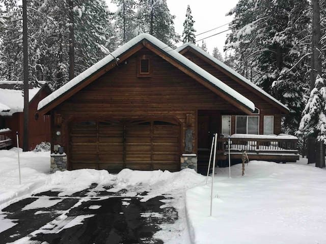 Hansel House, in lower Tahoe Donner