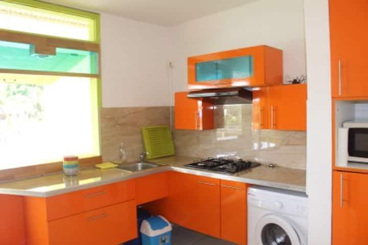 Maison d'une chambre à Le Gosier, avec terrasse aménagée et WiFi - à 3 km de la plage