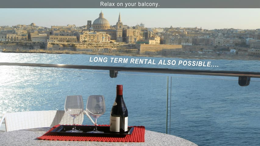 PAM1-5 · 5* Your Perfect Holiday-3 bedroom Apartment Malta