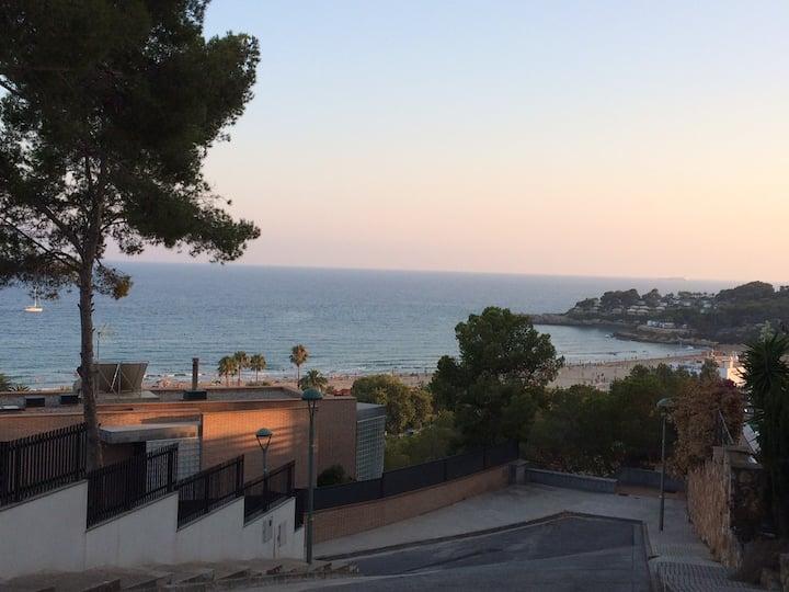 Appartement vue mer Playa La Mora Tarragona