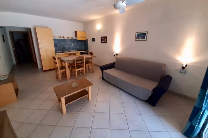 Ground floor apartment with private entrance