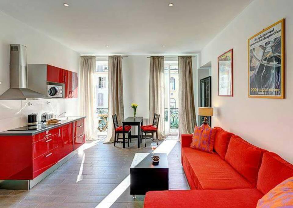 superbe studio avenue jean medecin appartements louer nice provence alpes c te d 39 azur france. Black Bedroom Furniture Sets. Home Design Ideas