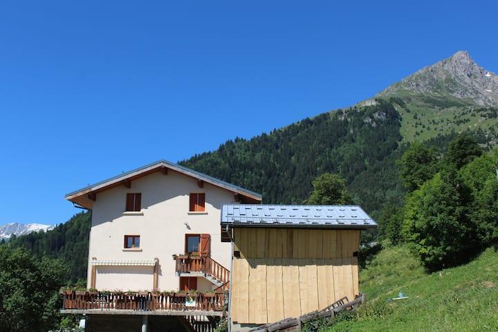 Village typique Savoie Gîte de France (EDELWEISS)