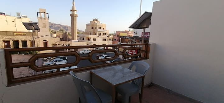Relax House-5, Aqaba castle view, sea view,Terrace