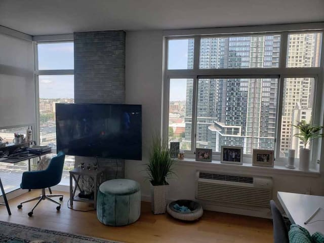 Downtown Jersey City Luxury Apartment (Grove St.)