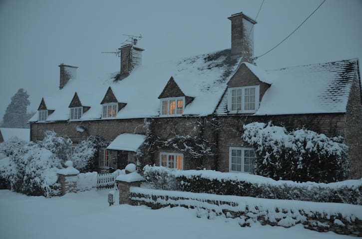 The Cottage in Snow