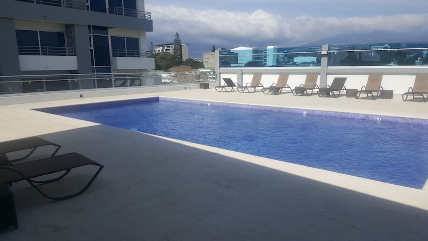 Modern condo with amaizing view in Los Yoses - San José - Pis