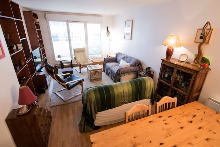 Appartement Clichy/Saint-Ouen 88 m2, proche Paris